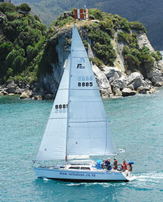 Sailing in Nelson and Tasman Bay